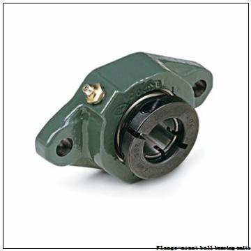1.0000 in x 3.0000 in x 3.7500 in  Dodge LFSC100 Flange-Mount Ball Bearing Units