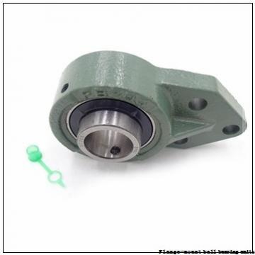 2.2500 in x 5.1250 in x 6.5000 in  Dodge F4BSC204 Flange-Mount Ball Bearing Units