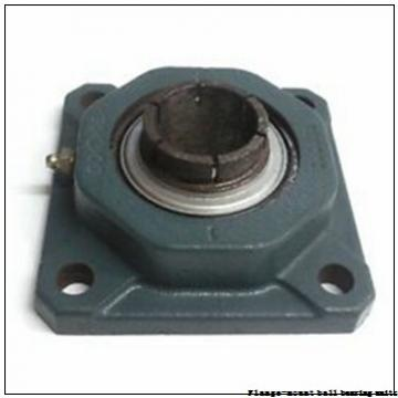1.0000 in x 2.7500 in x 3.7500 in  Dodge F4BSC100 Flange-Mount Ball Bearing Units