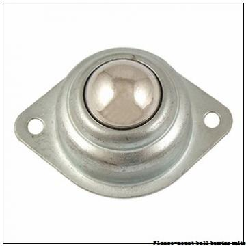 1.2500 in x 3.5625 in x 4.4400 in  Dodge LFSC104S Flange-Mount Ball Bearing Units