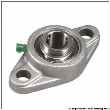 2.4375 in x 5.6250 in x 6.8800 in  Dodge F4BSC207 Flange-Mount Ball Bearing Units