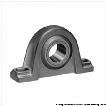 Bunting Bearings, LLC LF203424 Flange-Mount Plain Sleeve Bearing Units