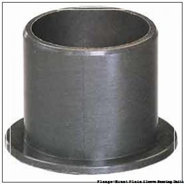 1.0020 in x 3.0000 in x 11/16 in  Bunting Bearings, LLC LF163424 Flange-Mount Plain Sleeve Bearing Units