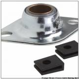 1.0020 in x 3.9960 in x 5 in  Bunting Bearings, LLC LT163424 Flange-Mount Plain Sleeve Bearing Units